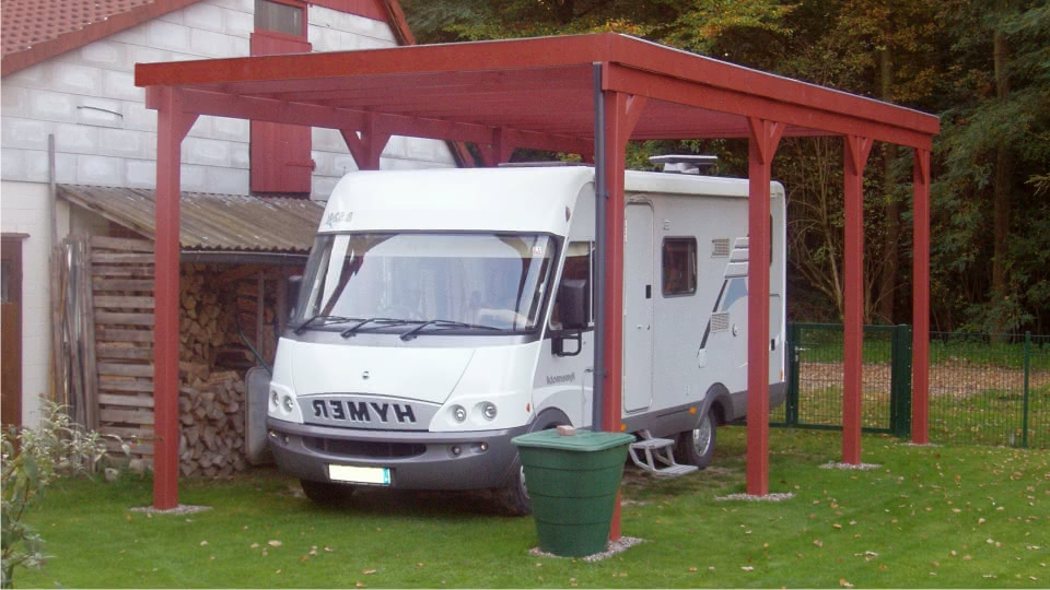 caravan carports f r wohnwagen wohnmobil lkw caravan. Black Bedroom Furniture Sets. Home Design Ideas