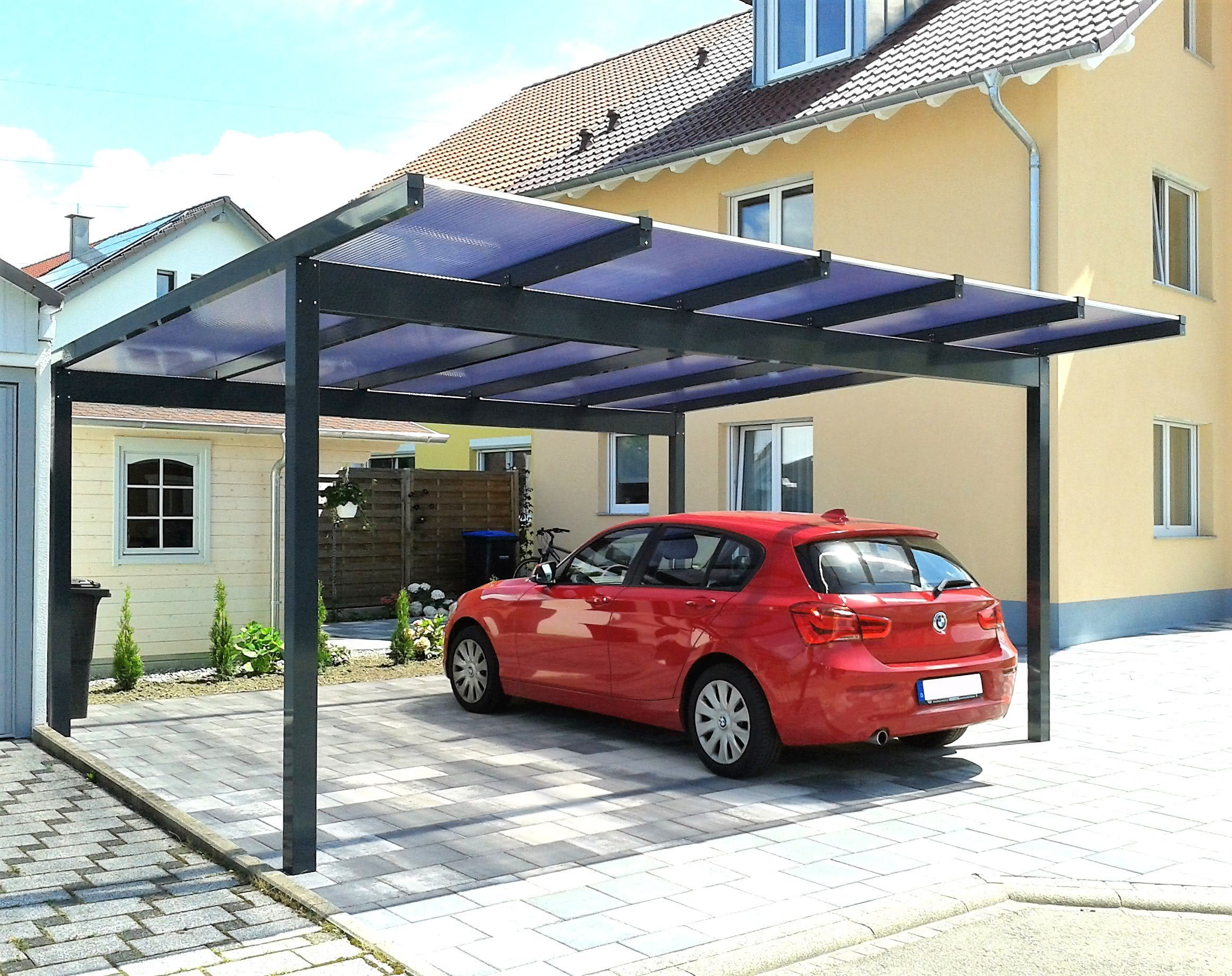 alu carports carports aus aluminium. Black Bedroom Furniture Sets. Home Design Ideas