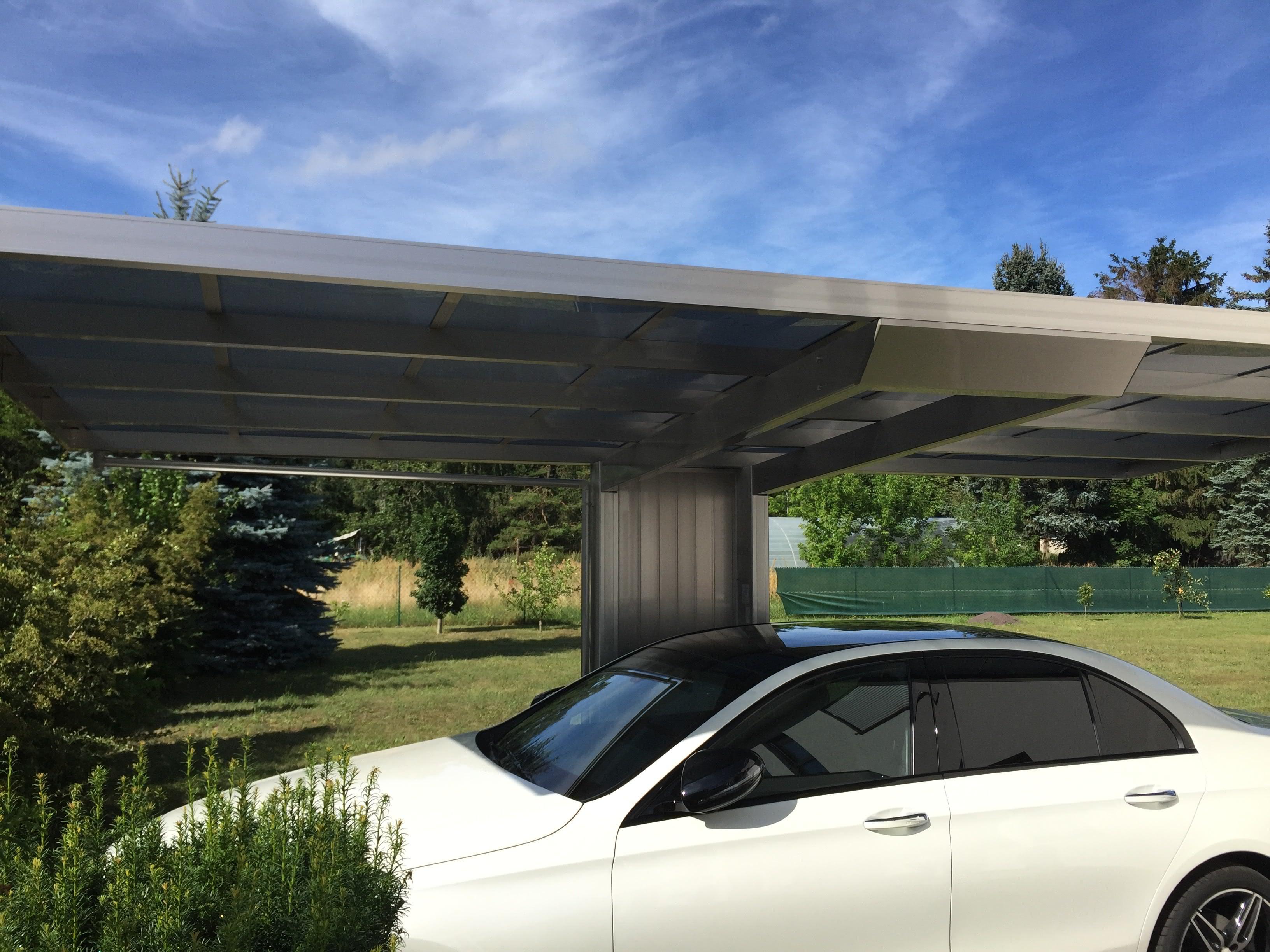 Alu-Carports - Carports aus Aluminium