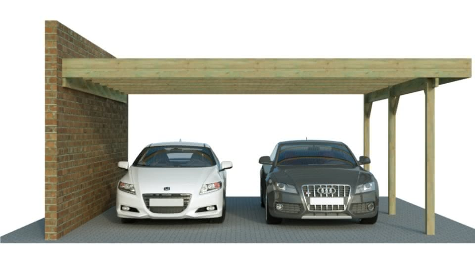 carport carport g nstig im konfigurator mit preis. Black Bedroom Furniture Sets. Home Design Ideas