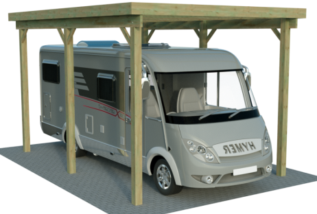 caravan einzelcarports xxl von carport. Black Bedroom Furniture Sets. Home Design Ideas