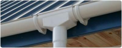 PVC Rinnensystem