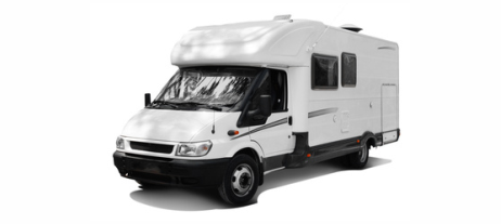 Carport für einen Caravan, Wohnmobil, Transporter