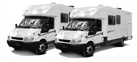 Carport für zwei Caravan, Wohnmobil, Transporter